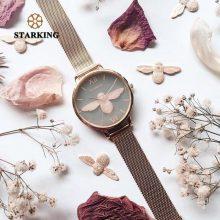STARKING 30m Waterproof Rose Gold Watch Women Quartz Watches Steel Ladies Top Brand Luxury Female Wrist Watch Girl Clock Relogio