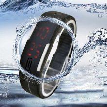 Erkek Kol Saati Relogio Masculine Ultra Thin Men Girl Sports Silicone Digital LED Sports Wrist Watch For Women Men Watches