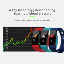 Smart Bracelet Y5 Sleep Monitor Fitness Tracker Heart Rate Smart Band Blood Pressure Watch Color Screen Activity Tracker Band