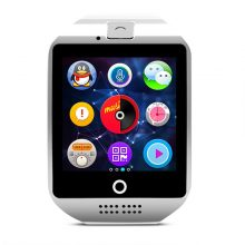 TORTOYO Q18 Smart Watch Phone Touch Screen Support Music Camera Bluetooth NFC TF/SIM Card Smartwatch for IOS Android PK GT08 U8