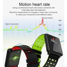 NEW F3 Smart Bracelet 1.44 Color Screen Heart Rate Blood Pressure Monitoring GPS Track Movement IP68 Waterproof Health Watch