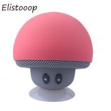 Elistooop 2018 Mini Mushroom Speaker Wireless Bluetooth 4.1 Speaker MP3 Player Mic Portable Stereo Blutooth For Mobile Phone