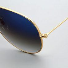 Boloban 3026 gradient glass lens aviation sunglasses men 60mm pilot classic brand glasses mirror oculos de sol UV400