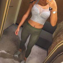 Hot Wholesale Women Mesh Patchwork Sports Bra Tank Tops Bodycon Slim Gym Sports Clothing Bustier Vest Crop Tops Bralette Blouses