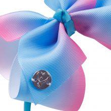 Rainbow Printed jojo Hair Bow Hairband For Girls Boutique Handmade Headbands Children Unicorn Ribbon Hair Accessories