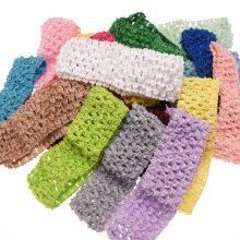12PCS Knit Headband Hair Elastic Band Hair Accessory Hollow out Hairband Fashion Headwear