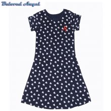 Brand New Girls Dress Summer Style Party Wear For Kids Baby Princess Dresses Girls Teenage Vestido Children's Clothing 1-13 Year