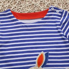 Cartoon Lovely Rabbit Baby Girls Dress Long Sleeve Striped Kids Dresses Cotton Hot Sale 2018 New Girls Easter Children Clothing