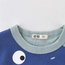 Cartoon Print Baby Boys Dinosaur T Shirt For Summer Infant Kids Boys Girls Lion T-Shirts Clothes Cotton Toddler Letter Tops