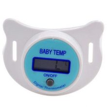 Health Monitors Baby Nipple Thermometer Termometro Baby Pacifier LCD Digital Mouth Nipple Pacifier Chupeta Termometro Testa GOOD