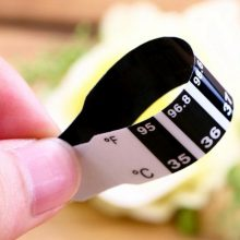 High Quality 10pcs Bendable Sticker Professional Baby Forehead Attached Thermometer