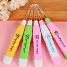5PCS Random Color Baby/Adult Flashing Light Led Digging Ear Wax Remover Cleaner Tools Electric Ear Cleaner Cleaning Tool