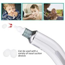 200PCS Baby Disposable Filter Cotton Nose Cleaner Nasal Aspirator Filter Cotton Nasal Suction Device Accessories