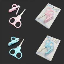 Hot Cute Safty Convenient Daily Baby Nail Care Set Mini Baby Nail Care Practical Clipper Trimmer Blue Pink