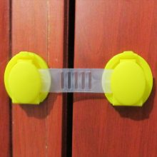 10 Pcs/Lot Plastic Child Lock Children Protection Baby Safety Infant Security Window Lock Door Interlocks Fridge Lock for Child