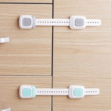 Children Security Protection Cabinet Doors Locks Multifunctional Dual Button Baby Kid Safety Drawer Refrigerator Closestool Lock