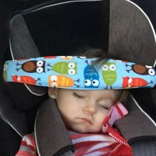 Baby Car Safety Sleeping Head Support Belt Children Kid Fixing Band Car Seat Sleep Nap Positioner Baby Sroller Holder Belt