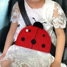 2018 New Kids Protection Seat Belt Adjuster Children Safety Belt Covers with Cute Animal Pattern