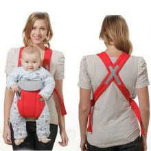 2017 Brand New Adjustable Baby Infant Toddler Newborn Safety Carrier 360 Four Position Lap Strap Soft Baby Sling Carriers 2-30M