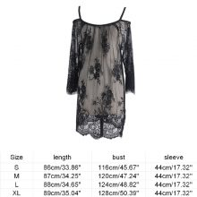 Lace See Through Maternity Dresses Sleepwear Studio Clothes Pregnancy Photo Prop for Pregnant women