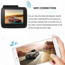 Bluavido 4K 2160P UHD Dash Cam DVR GPS tracker WDR Night Vision IMX323 Novatek 96660 Car Camera Video Recorder WiFi 150 Degree