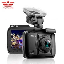 ANSTAR 4K Dash Cam 2880*2160 WiFi Car DVRs Recorder Night Vision Dashcam Dual Lens Vehicle Rear Camera Built in GPS Camcorder