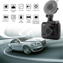 Conkim Novatek Car DVR With Two Camera Ultra 4K HD DVR Dash Camera Built In GPS WIFI Cam Car Video Recorder Rear View Lens Dual