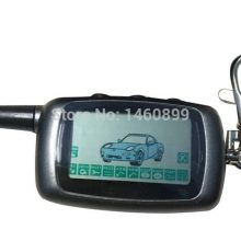 A9 2-way LCD Remote Control Key Fob Chain + A9 Silicone Case For Two Way Car Alarm System Twage Starline A9 Keychain