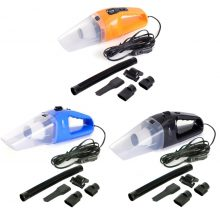 12V 120W Portable Handheld Vacuum Black Blue 1 Pcs Car Vacuum Cleaner DC  Cleaner Wet and Dry Dual Use Car Vacuum High Powerful