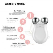 microcurrent massager face lift machine skin care tools Skin Tightening Spa USB lifting facial wrinkle remover Beauty Massage