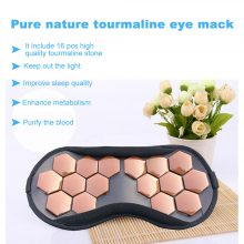 Tourmaline Therapy Sleep Face Eye Mask Anti Stress Facial Relax Health Germanium Anion Patch Massage Tourmaline Stone