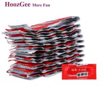 HoozGee I Loves Condoms Fruit Flavor Extra Safe Super-lubrication Latex Condom for Men Sex Toy Products 10pcs/lot