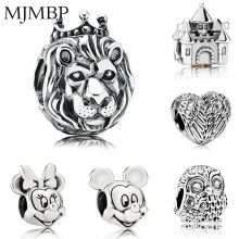45 Styles Retro Charms Beads Newest Collection Fit Pandoraa DIY Gift For Vintage Bracelet & Necklaces Jewelry making Women Gift