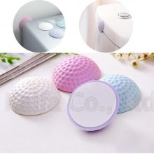 Self Adhesive Rubber Door Buffer Wall Protectors Door Handle Bumpers for Door Stopper Doorstop