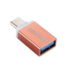 USB Male to USB 3.1 Type-c OTG Female Data Adapter Connector For Oneplus 2 For MacBook Q99 —  WWO66