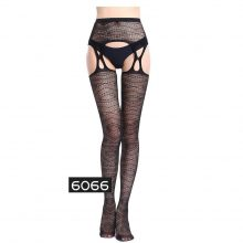 Women's sexy suspenders open-crotch high waist net  yarns sexy Garter net hose fishnet panty fishnet tights tt31