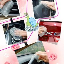 Car Cleaner Glue Panel Air Vent Outlet Dashboard Laptop Home Magic Cleaning Tool Mud Remover Car Gap Dust Dirt Cleaner Soft Gel