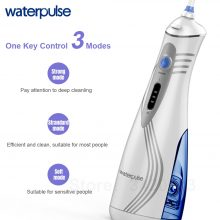 Waterpulse V400 Portable Dental Flosser Cordless Oral Irrigator With Travel Case 240ML Rechargeable Battery Water Flosser Teeth