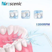 Proscenic Teeth Irrigator Oral Portable Cordless Water Dental Flosser Electric Irrigation Dental Irrigators USB Rechargeable