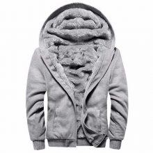 European Fashion Bomber Mens Vintage Thickening Fleece Jacket Autumn Winter Designer Famous Brand Male Slim Fit Warm Coat 2018