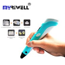 3D Pen Newest 3D Drawing Pen With LCD Screen and Doodle Model Making Arts & Crafts Drawing with 3×1.75mm ABS Material and Power