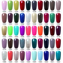 Elite99 Beauty Choices Colored 3D Nail Gel Polish New Design Soak Off Color From 241 UV Gel Polish Collection 15ml