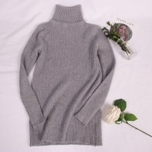 Hirsionsan Thick Warm Knitted Turtleneck Sweaters 2018 Autumn Winter Women Pullovers Casual Solid Jumper Slim Elastic Pull Femme