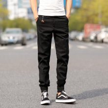 2018 Top Quality New Brand Mens Print Beam Foot Pants Active Joggers Pencil Pants Men  Hip Hop Sweatpants