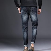 2018 Popular New Design Men's Casual Stretch Spring Thin Jeans