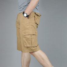 Cargo Shorts Men Summer Fashion Army Military Tactical Homme Shorts Casual Multi-Pocket Male Baggy Trousers Plus Size 42 44 46