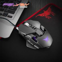 FELYBY CW50 usb wired gaming mouse high quality profession laptop computer mouse gamer 3200DPI 6 Buttons LED Optical mice for PC