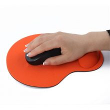 Mouse Pad Wrist Protect Optical Trackball PC Thicken Mouse Pad Soft Comfort Mouse Pad Mat Mice
