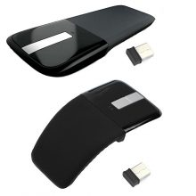 New Hot Ultra Thin Arc Touches Wireless Home Optical Mouse Mice USB for I/PC/AT//386/486/PENTIUM Q99 DJA99