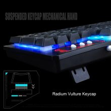 New 104 Keys Gaming Keyboard Mouse Rainbow LED Backlit Mechanical Feeling Keyboard Pro Gaming Keyboard and Mouse